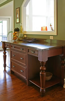 Cabinet and Countertop Furniture Piece